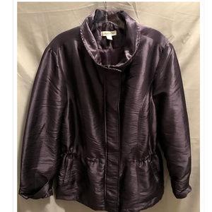 Size Large 14/16 Coldwater Creek Jacket Purple